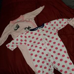 2 Pieces /3 -6 month Romper